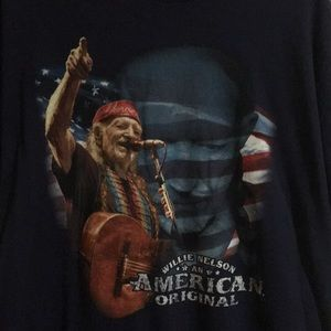 Willie Nelson USA country America vintage American